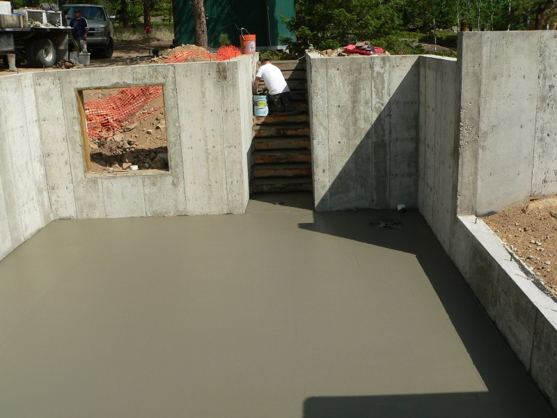 Foundation walls for Poured basement walls