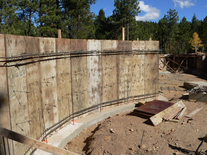 128 cost of poured concrete walls poured concrete wall for Cost of poured concrete foundation walls